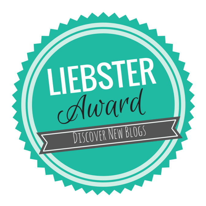 Liebster Award !